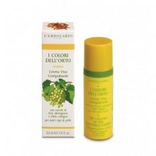 Уплътняващ крем за лице с нар, дюля и грозде, 50 ml, Lerbolario