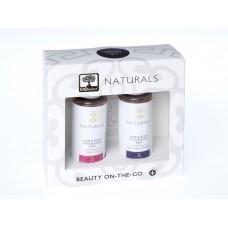 Луксозен комплект парфюми за коса и тяло ЧИСТА ЧУВСТВЕНОСТ и БЛЕСТЯЩИ РИТУАЛИ 2 х 100 ml, Bioselect