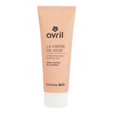 Био дневен крем за суха и чувствителна кожа AVRIL 50 ml