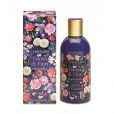 Душ гел и пяна за вана Танцът на цветята 250 ml, Lerbolario