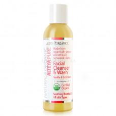 Био гел за измиване на лице Ванилия и Гераниум 150 ml