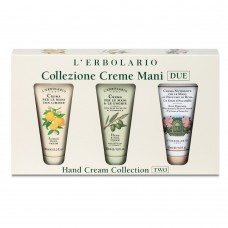 Колекция кремове за ръце лимон, маслина, роза ( 3 броя х 30 ml)