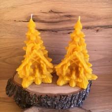 Свещ от пчелен восък Светото семейство Елха 1 бр.