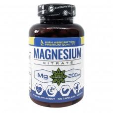Магнезиев цитрат 200 мг, 100 капсули