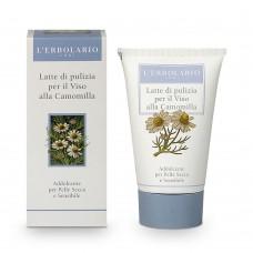 Почистващо мляко за лице с лайка за суха и чувствителна кожа 125 ml