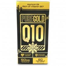 Коензим Q10, PURE GOLD, 60 капсули