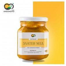 Златен мед с куркума - естествен имуностимулатор 400 gr